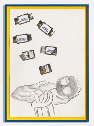 Leider Hatten Sie Diesmal Kein Gluck! (No Luck this time) by Simon Fujiwara contemporary artwork
