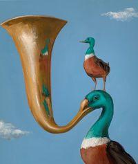 Brassy by Joanna Braithwaite contemporary artwork painting