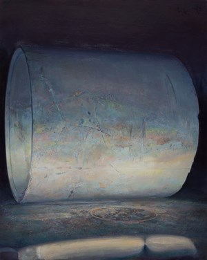 Cement Pipes 水泥桶 by Lu Liang contemporary artwork