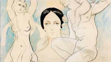 Contemporary art exhibition, Fifty works on paper / Modern & Postwar at Bailly Gallery, Online Only, Paris