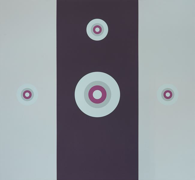 Discovery & Proof 2 by Tess Jaray contemporary artwork