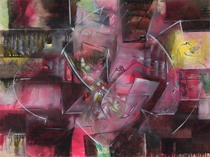 Phosphorece (Le Cube ouvert) by Roberto Matta contemporary artwork