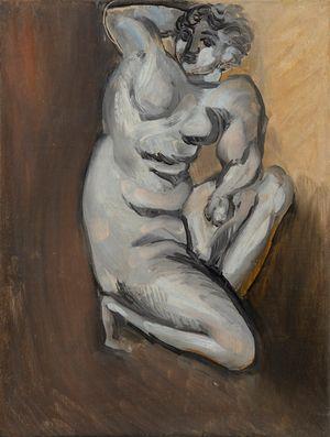 Nu agenouillé by Henri Matisse contemporary artwork