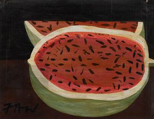 Untitled (Watermelon) by Frank Walter contemporary artwork