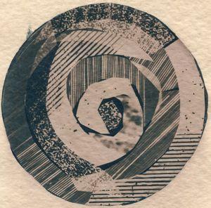 Rings On A Tree 1 by Corinne De San Jose contemporary artwork