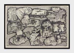 World News #26 by Derek Boshier contemporary artwork