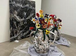 Artist Yuichi Hirako's Brilliant Body of Work in his First Show with Gallery Baton