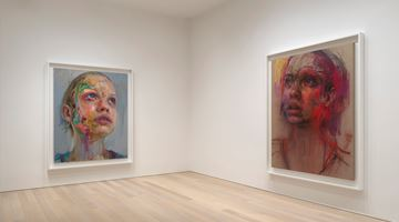 Contemporary art exhibition, Jenny Saville, Elpis at Gagosian, 980 Madison Avenue, New York