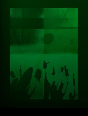Fade to Black by Philippe Parreno contemporary artwork