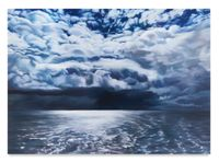 Sea of Light and Dark by April Gornik contemporary artwork painting, works on paper