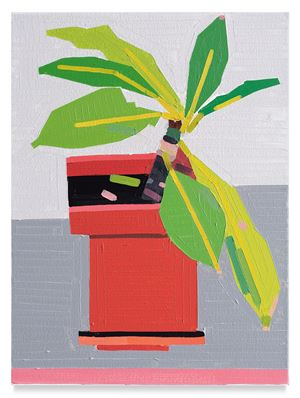 Roof Balcony Plant by Guy Yanai contemporary artwork
