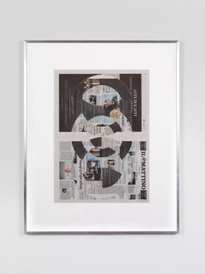 Il Mattino, Giovedì 13 Settembre 2018 by Walead Beshty contemporary artwork