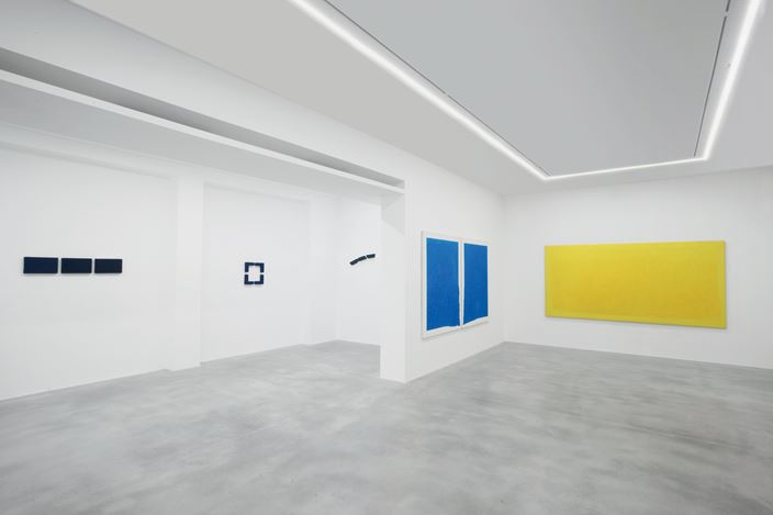 Exhibition view: Pino Pinelli, Monochrome (1973–1976) – Color as destiny and as Prophecy, Dep Art Gallery, Milan (20 June–21 September 2019). Courtesy Dep Art Gallery.