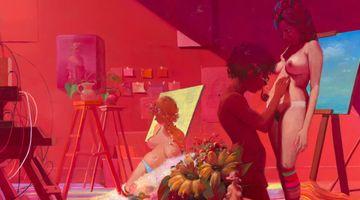 Contemporary art exhibition, Lisa Yuskavage, New Paintings at David Zwirner, 19th Street, New York, USA