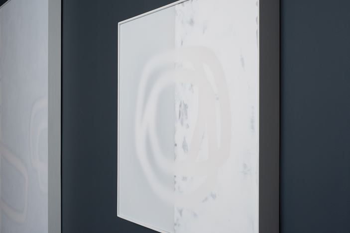 Exhibition view: Udo Nöger,Painting with Light,Sundaram Tagore Gallery, Chelsea, New York (5 September–5 October 2019). Courtesy Sundaram Tagore Gallery.