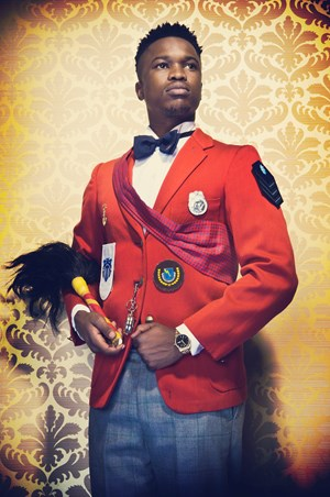 The Black President by Kudzanai Chiurai contemporary artwork