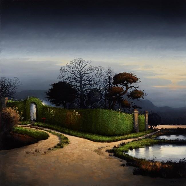 Diplomat's Garden by Alexander McKenzie contemporary artwork