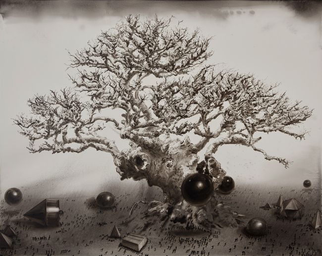 Dark energy no.2 by Lu Chao contemporary artwork