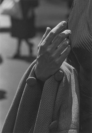 Hand and coat by Roy DeCarava contemporary artwork