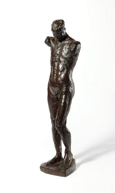 Standing Man by Kwon Jink Kyu contemporary artwork