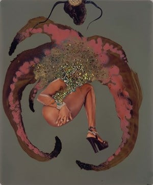 Drunk Palm III by Wangechi Mutu contemporary artwork