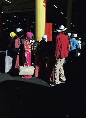 The Wait by Nonzuzo Gxekwa contemporary artwork