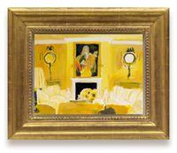 Elton John's London Living Room by Karen Kilimnik contemporary artwork painting, works on paper