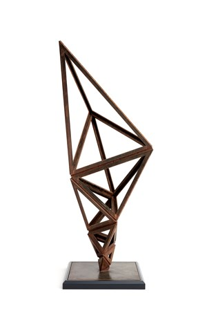 Paradigm Broad (Structural), by Conrad Shawcross contemporary artwork