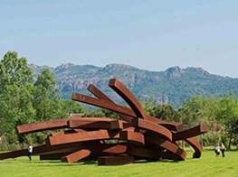 One Of The Greatest French Living Artists, Bernar Venet Holds Two New Exhibitions In France