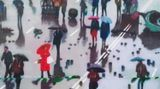 Contemporary art exhibition, Kon Trubkovich, The Antepenultimate End at Gagosian, Park & 75, New York, USA