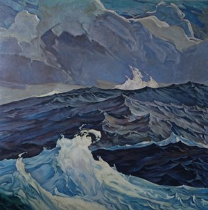 Swell by Dick Frizzell contemporary artwork