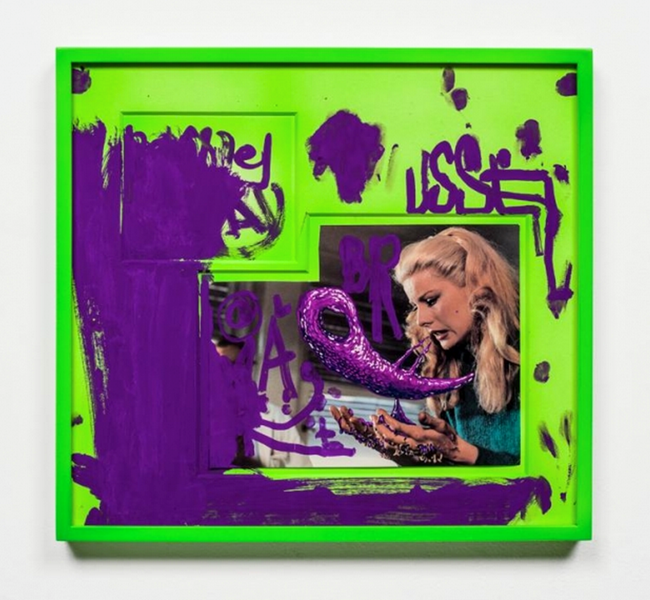 USSEL ABR@ by Aaron Curry contemporary artwork
