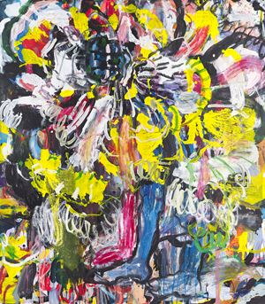 Pinky Scratch by Misheck Masamvu contemporary artwork