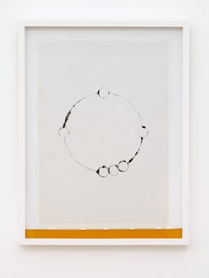 Score for Instrument C (Frances) by Sriwhana Spong contemporary artwork painting, works on paper, drawing