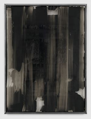 Grau hinter glas 876-6 by Gerhard Richter contemporary artwork