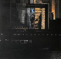 芝加哥的夕陽 by Wong Hau Kwei  contemporary artwork works on paper