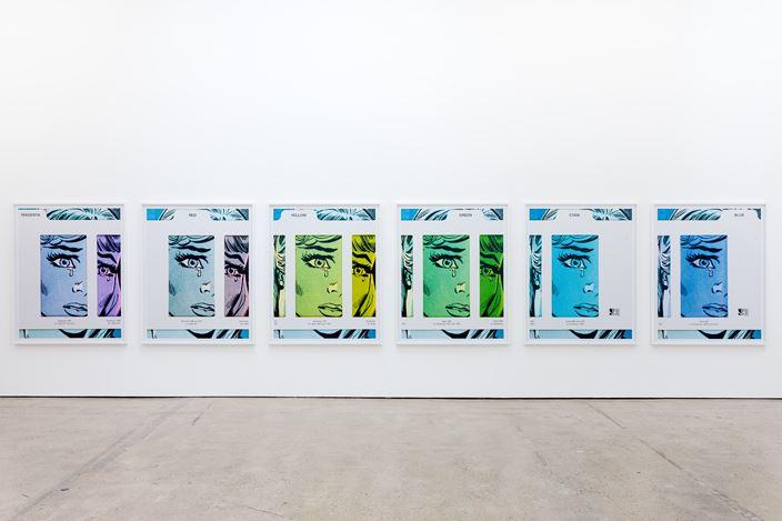 Exhibition view: Anne Collier, The Modern Institute, Aird's Lane, Glasgow (11 September–6 November 2020). Courtesy the Artist and The Modern Institute/Toby Webster Ltd, Glasgow.Photo: Patrick Jameson.