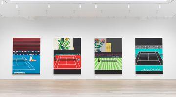 Contemporary art exhibition, Jonas Wood, Four Tennis Courts at Gagosian, 980 Madison Avenue, New York, USA
