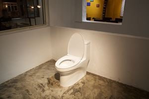 Toilette Seat by Liao Chien-Chung contemporary artwork