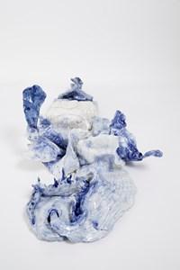As lambidas do mar by Brígida Baltar contemporary artwork ceramics