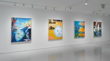 Contemporary art exhibition, Harmony Korine, Young Twitchy at Gagosian, 980 Madison Avenue, New York
