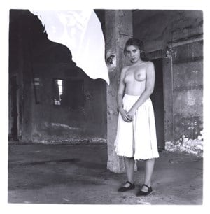 From a series on Angels, Rome by Francesca Woodman contemporary artwork