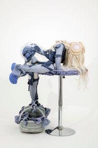CLIMBER (Pleasent Pull) by Anna Uddenberg contemporary artwork sculpture