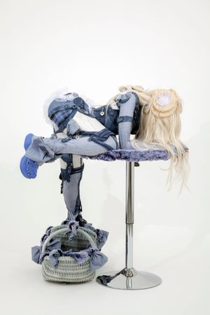 CLIMBER (Pleasent Pull) by Anna Uddenberg contemporary artwork
