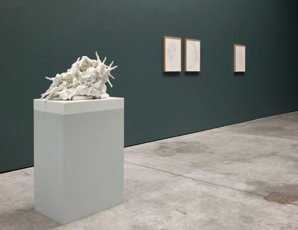 Exhibition view: Rachel Kneebone, Raft, White Cube, Mason's Yard, London (7 July–4 September 2021).© Rachel Kneebone. Photo: © White Cube (Stephen White).