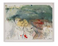 Mama Study 21 by Rita Ackermann contemporary artwork painting, works on paper, drawing