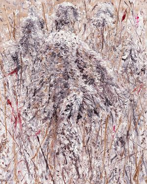 Mendrami by Jiwon Kim contemporary artwork painting, works on paper
