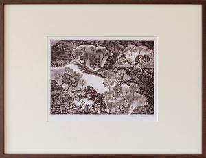 View by Mrinalini Mukherjee contemporary artwork print