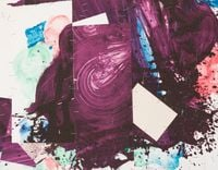Plum Nellie, K. Touch by Robert Reed contemporary artwork works on paper