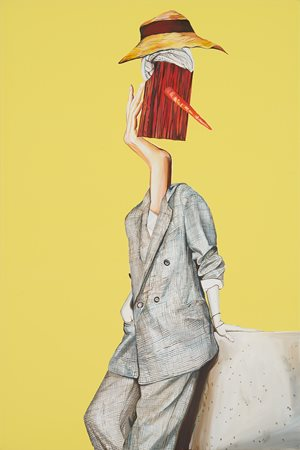 Casual guy by Rob McHaffie contemporary artwork
